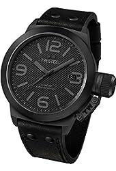TW Steel Men's TW844 Canteen Cool Black Dial Watch