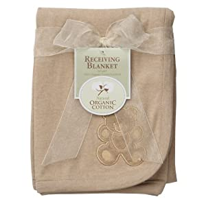 Organic Cotton Thermal Swaddle Infant Baby Blanket by American Baby Company