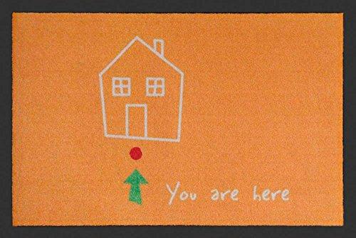 Empire Merchandising 658319You Are Here, Zerbino, dimensioni 60x 40cm, in polipropilene, colore: arancione