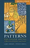 img - for Patterns for College Writing 11e with 2009 MLA Update & CompClass book / textbook / text book