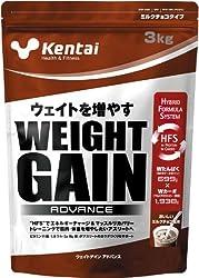 Kentai ウェイトゲイン アドバンス ミルクチョコ 3kg
