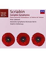 Scriabine : Intégrale des symphonies - Concerto pour piano - Prométhée - Le Poème de l 'Extase