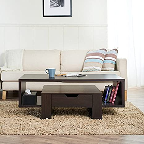 Orion Spacious Coffee Table with Drawer