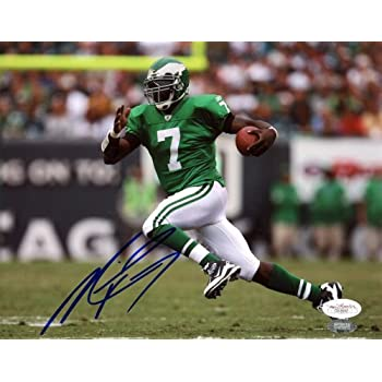 Signed Michael Vick Photo - 8x10 - JSA Certified - Autographed NFL Photos coupons 2015