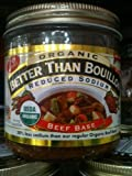 Better Than Bouillon Organic Beef Base, Reduced Sodium - 16 oz