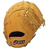 asics(アシックス) 野球 ジュニア軟式用グローブ(ファースト左投げ用) ダイブ BGJ6BF オレンジ RH