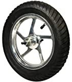 """Currie 12-1/2"""" x 3.0"""" Aluminum Front Wheel complete with Tire & Tube for Schwinn, Izip & Ezip Scooters"""