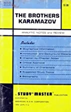 The Brothers Karamazov: Analytic Notes &…