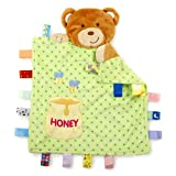 Taggies - Peek a Boo Bear Baby Blanket