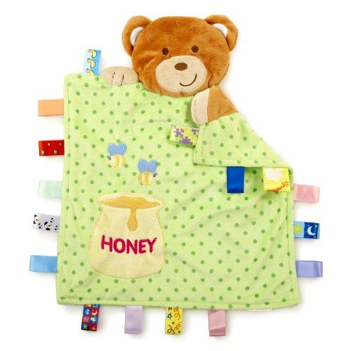 Taggies Peek-A-Boo Blanket, Rub A Cub front-545002