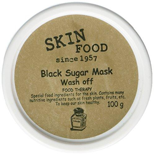 Skin Food Black Sugar Mask Wash Off 100g/Made in Korea