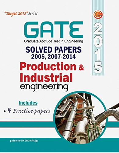 GATE Solved Paper 2015 (Production & Industrial Engg 2005-2014)