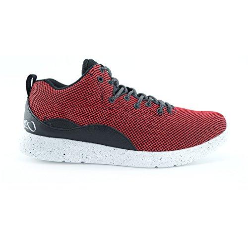 K1X, Sneaker uomo Rosso Red / Black (Rot), Rosso (Red / Black (Rot)), 49.5 EU