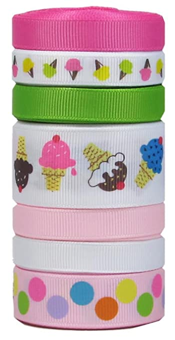 hipgirl amazon exclusive hair bows pony holders ribbon nail art headbands