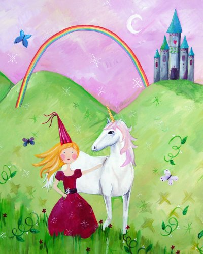 Cici Art Factory Wall Art, Princess Blonde, Small
