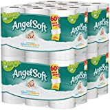 Angel Soft 48 Double Rolls Bath Tissue, 12 Count (Pack of 4)