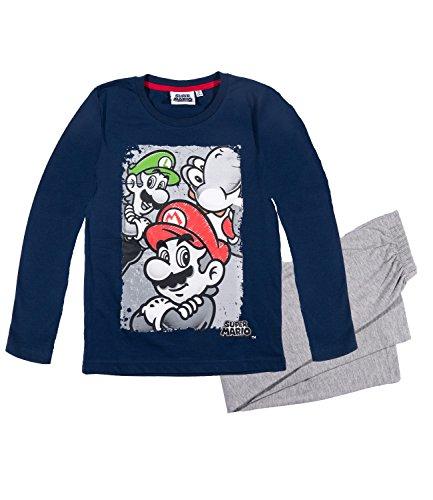 Super Mario Bros Ragazzi Pigiama - blu marino - 134