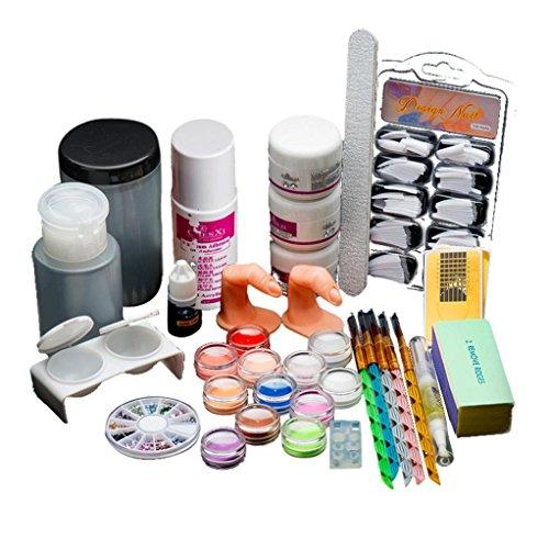 overdose-18-acrylique-nail-art-conseils-poudre-liquide-brosse-briller-tondeuse-appret-kit-de-jeu-de-