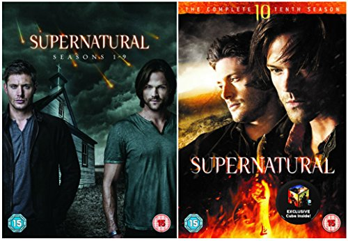 Supernatural Season 1-10 Complete Episodes of American fantasy drama DVD Collection + Special Features (Supernatural Season 1 Episode 9 compare prices)