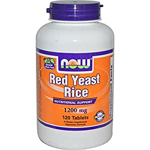 Amazon.com: Red Yeast Rice Extract 1200 mg - Now Foods
