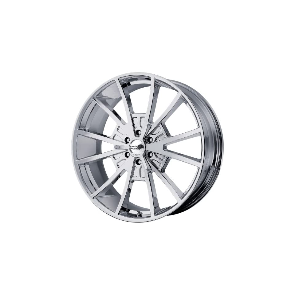 American Racing Vintage EL Rey 20x8.5 Chrome Wheel / Rim 6x135 with a 30mm Offset and a 87.10 Hub Bore. Partnumber VN80328563230