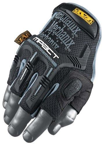 Mechanix Wear MFL-05-540 M-Pact Fingerless Glove, Black, X-Large/XX Large Color: Black Size: X-Large/XX-Large Model: MFL-05-540 Tools & Hardware