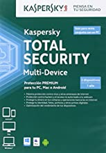 Kaspersky Total Security Multi-device - Antivirus, 3 Dispositivos