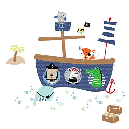 Lambs & Ivy Little Pirates Wall Appliques - 1