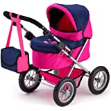 Bayer Design Doll Pram Trendy (Pink)