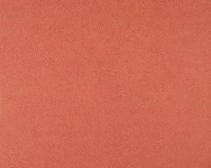 livingwalls 540720 papier peint intiss cr pi en relief uni rouge rouille import allemagne. Black Bedroom Furniture Sets. Home Design Ideas