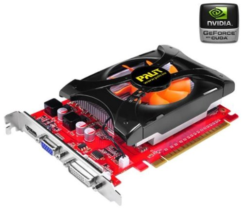 Palit GeForce GT 440 Graphics Card with Blu-Ray 3D Support (1GB, GDDR5, 810Mhz)