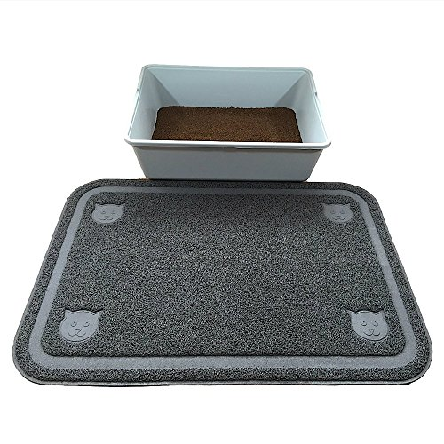 Cat Litter Box Trapping Mat Extra Large-Pawfect Pet Premium Quality (35″x24″). Risk Free Purchase-Lifetime Replacement Guarantee. Water Resistant and Non-toxic. Extra Thickness For Tear Resistance, High Durability And Softness