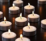 #4: SRL Set of 50 Smokeless Tealight Candles Burning Time Approx 3 Hour( Made of Pure Paraffin Wax )