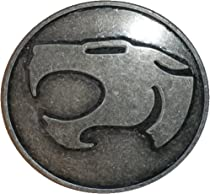 Thundercats Belt Buckle Dark Silver