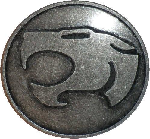 Thundercats Belt Buckle Dark Silver