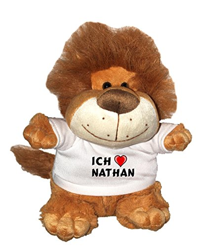 lowe-pluschtier-mit-einem-t-shirt-mit-aufschrift-ich-liebe-nathan-grosse-27-cm
