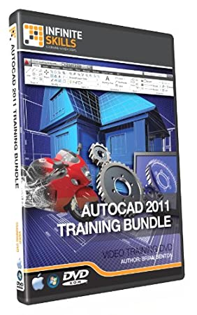 Beginner to Advanced AutoCAD 2011 Training DVD - Tutorial. Discounted Bundle