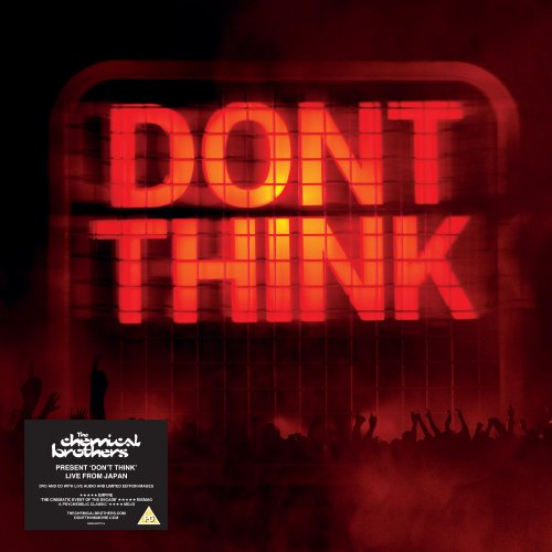 The Chemical Brothers - Don't Think (DVD+CD+10