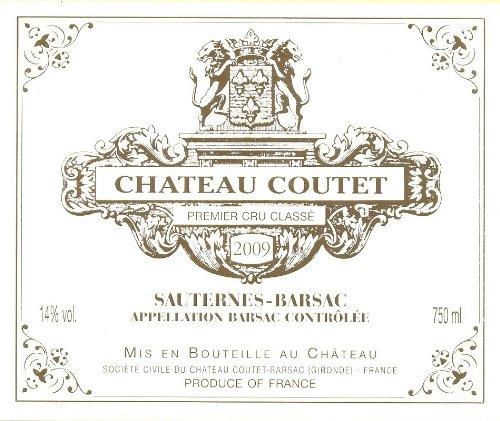 2005 Château Coutet, Barsac - 375 Ml