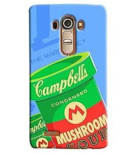 Blue Throat Mushrrom Box Printed Designer Back Cover/ Case For LG G4