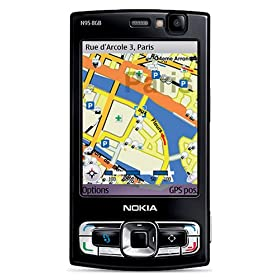 514yQ7VhckL. SL500 AA280  Nokia N95 8 GB Unlocked Cell Phone   $350 Shipped