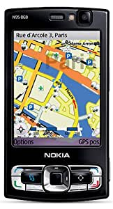 Nokia N95-4 8 GB Unlocked Phone with 5 MP Camera, 3G, Wi-Fi, GPS, and Media Player--U.S. Version with Warranty (Black)