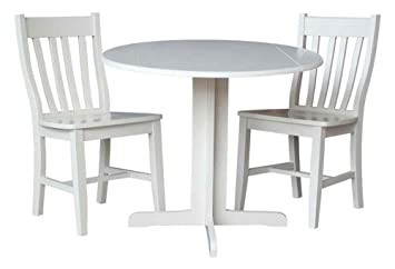 3-Pc-Dual Drop Leaf Table