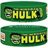 Incredible Hulk Marvel Rubber Wristband
