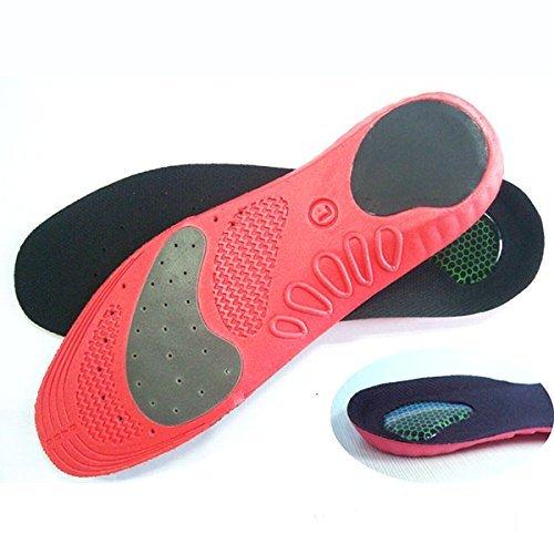HealthPanion 1 Paire de Cadrage et chaussure confortable Semelles-parfait pour l'activité physique