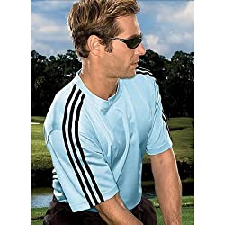 Adidas ClimaLite Men's 3-Stripes Golf T-Shirt