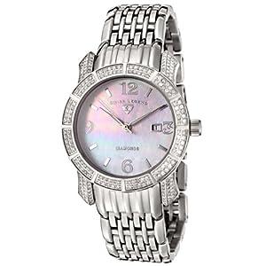 Swiss Legend Women's 23024-WMOP Marquise Diamond Collection Watch