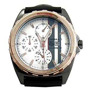 SVM White Multicolor Tag Chronograph Analog Watch For Men, Boys
