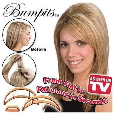 Bumpits Hair Volumizing Leave-In Inserts 3 ea (Blonde)