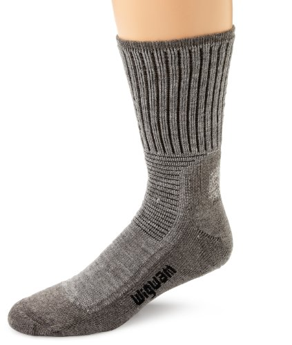 Wigwam Men's Hiking Pro Socks, Grey Heather, Large
